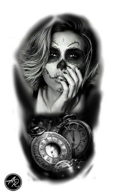 Mais de 100 Desenhos para Tatuagens Realistas | Tatuagens - Ideias Chicano Style Tattoo, Chicano Tattoos, Wolf Tattoos, Animal Tattoos, Amy Brown Fairies, Pride Tattoo, Dark Art Photography, Prison Art, Black White Tattoos