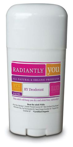 Try our all natural deodorant!