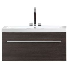 $255.20 at Rona. Vanity and Sink - 1 Drawer -35 1/2 - Alamo Oak