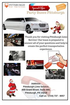 Party Buses Pittsburgh Infographic