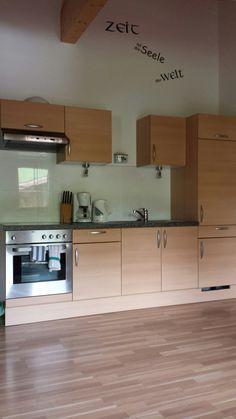 De keuken van appartement 104.