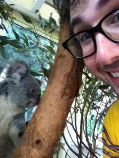 =)  Josh Groban and a Koala...What's not no love?  Haha