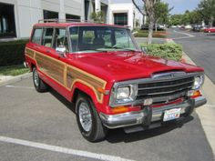 Learn more about Fully Functional w/ Fresh Drivetrain: 1991 Jeep Wagoneer on Bring a Trailer, the home of the best vintage and classic cars online. Vintage Jeep, Vintage Trucks, Old Jeep, Jeep Jeep, 2 Door Jeep, Woody Wagon, Jeep Wagoneer, Classic Cars Online, Jeep Grand
