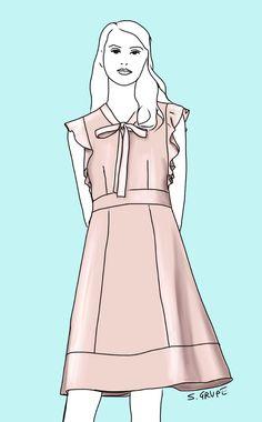 Welches Kleid zu Ihrer Figur und zu Ihrem Stil passt und auf was Sie achten sollten: 10 unkomplizierte Kleider, 10 Mode-Analysen und 10 Kaufempfehlungen.