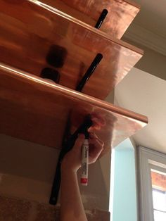 """I wish I'd seen this before replacing my kitchen cabinets!"" said a reader when she saw the end result:"