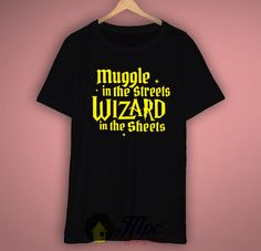 Harry Potter Muggle In The Street Unisex Premium T Shirt Size S-2XL  #muggle #wizard #harrypotter #hogwarts #tshirt #mpcteehouse
