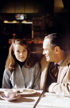 Jane with her father Henry Fonda