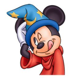 Sorcerer Mickey being silly