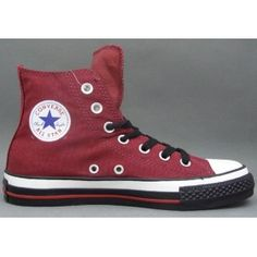 Converse Outlet All Star Chuck Taylor Canvas High tops Red