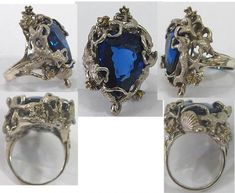 ring with shell clusters, mermaid perfection