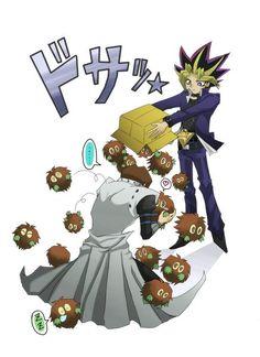 I love when Yami uses Kuriboh against Kaiba ^_^  << YES. KURIBOH, ACTIVATE SUPER CHIBI KAWAII DESU MOE MODE!!