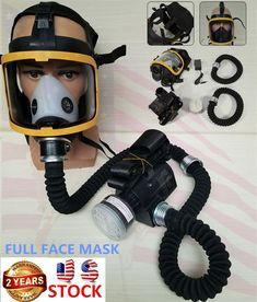 Black Hot Spare No Cost At Any Cost Event & Party Surwish Tactical War Game Paintball Full Face Skull Mask Cs Gas Mask With Fan M50 Party Supply Party Masks