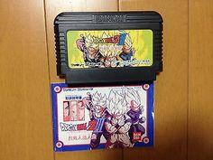 Dragon Ball Z III Ressenjin Zouningen Famicom Japan w/ manual Bandai DBZ