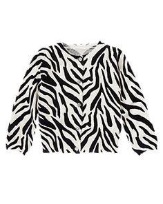 Zebra Sweater Cardigan