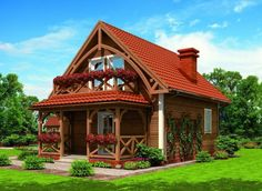 Very nice! Village House Design, Village Houses, 1200 Sq Ft House, Casas Country, Weekend House, Apartment Layout, Tiny House Living, Design Case, Next At Home