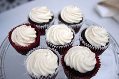 Red Velvet Cupcakes from SuperFarm Chuckwagon at the Food Truck Round Up at Superstition Farm in Mesa.