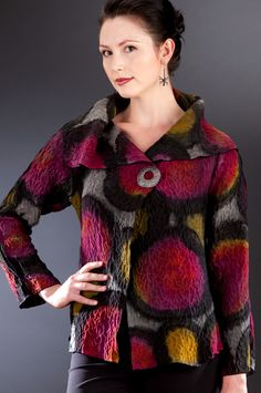 Now, this is really a Classic Felted Jacket! ~ Peggotty Christensen