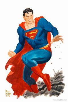 Superman by Paolo Rivera