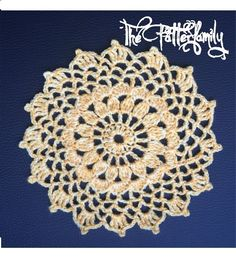 How to Crochet a Doily Pattern #1│by ThePatterfamily