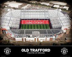 Manchester United Teatr marzeń - plakat - 50x40 cm  Gdzie kupić? www.eplakaty.pl