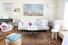 Living Room Rental Makeover