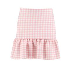 Coffee friend date-white top, thin dangly earrings, ring, pink vans, pink denim jacket & wavy hair Pink Outfits, Summer Outfits, Cute Outfits, Skirt Outfits, Skirt Fashion, Fashion Outfits, Gingham Skirt, Kawaii Clothes, Stage Outfits