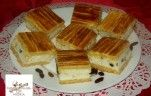 Meggyes pudingos pite recept Koncz Andrea konyhájából - Receptneked.hu Cake Cookies, Cornbread, Tiramisu, Waffles, Sandwiches, Pie, Sweets, Breakfast, Ethnic Recipes