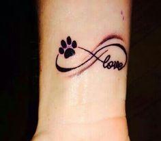 Puppy love tattoo