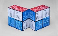 Календарь-трансформер -Бренд-дизайн