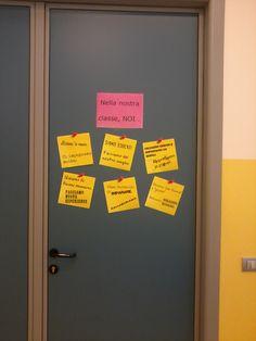 Porta della classe con buoni propositi1