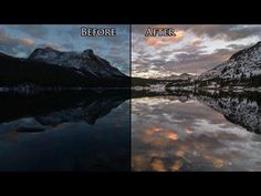 Speed editing your RAW landscape photo in PS in 5 min.
