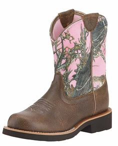 You'll find the brands you love and the largest selection of cowboy boots, western wear & work gear. Fatbaby Boots, Pink Camo, Kids Boots, Western Wear, Brand You, Cowboy Boots, How To Wear, Shoes, Fashion