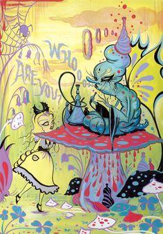 El Creepy Art de Camille Rose García