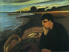 Melancolia, 1894 Edward Munch (Noruega, 1863-1944) óleo sobre tela, 81 x 100 cm Rasmus Meyer Collection The Bergen Art Museum
