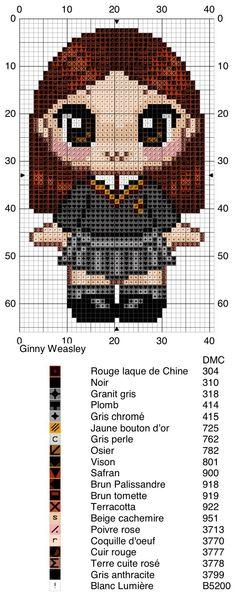 Ginny Weasley - Harry Potter pattern