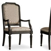 """Found it at Wayfair - Corsica Arm Chair  $796 set of 2  Upholstered arm chair.  Features: Corsica collection Constructed of acacia solids and veneers with fabric Fabric seat and back Dimensions: 42"""" H x 23.75"""" W x 23.75"""" D, 64 lbs"""