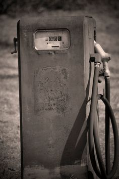"Urban Americana Photography ""Retro Gas Pump"" - old mid century farm gas pump found exploring a back road."