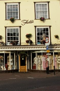Fields of Sidmouth, fantastic local and independent Department Store The Old Curiosity Shop, Shop Local, Department Store, Devon, Seaside, Fields, England, Holidays, Cottages