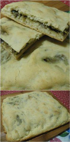 Focaccia ripiena ai carciofi , ricetta di Gabriele Bonci ! #focaccia #focacciaripiena #carciofi #gabrielebonci #ricettegustose