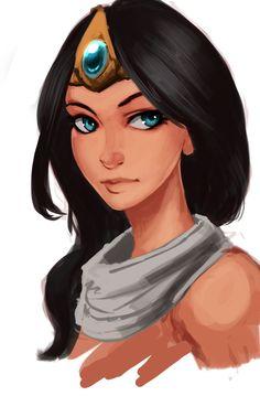 Sivir by Raichiyo33 on DeviantArt . Character Illustration