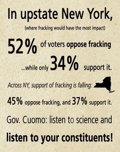 No fracking in Upstate NY!!