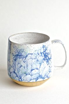 A mug so beautiful, you'll always have an excuse for that second cup of coffee
