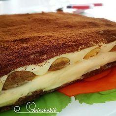 Kedi dili tiramisu – My Pins Page Cake Recipe Using Buttermilk, Turkish Sweets, Pastry Cake, Turkish Recipes, Ice Cream Recipes, Mousse, Food Design, Chocolate Recipes, Sweet Tooth