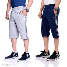 Three Fourths PC Cotton Men's Three Fourths Fabric: PC Cotton Waist Size: L - 32 in, XL - 34 in, XXL -  36 in Length: 18 in Type: Stitched Description: It Has 2 Piece Of Men's Three Fourths Pattern: Striped Sizes Available: M, L, XL, XXL *Proof of Safe Delivery! Click to know on Safety Standards of Delivery Partners- https://ltl.sh/y_nZrAV3  Catalog Rating: ★4.1 (6362)  Catalog Name: free gift Stylish PC Cotton Men's Three Fourths Vol 2 CatalogID_456076 C69-SC1934 Code: 405-3298264-