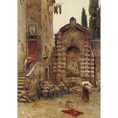 Ettore Roesler Franz <br>1845-1907