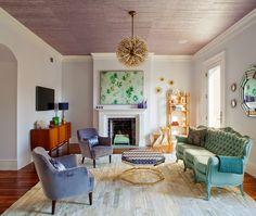 Una casa decorada de forma hermosa y atrevida | Decorar tu casa es facilisimo.com