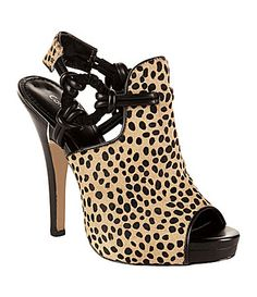 Calvin Klein Juliana Animal-Print Sandals  $129.00  #Shoes #Pinterest #WendyWilliams #DillardsMall #ShoesOfPrey #ChineseLaundry #Candies TheWendy Show #JeannieMai #WendyWilliamsTV