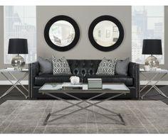 Upton Leather Sofa 65618 RS