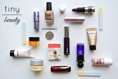 Pretty Squared: Tiny Beauty - Free and Affordable Makeup Samples