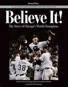 Chicago White Sox, World Series Champions 2005. It was, and I am certain will remain, one of the most glorious days of my whole life.